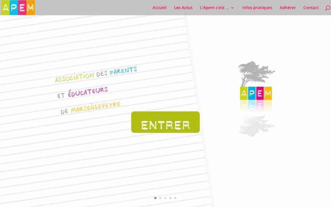 Un nouveau site web pour l'Apem